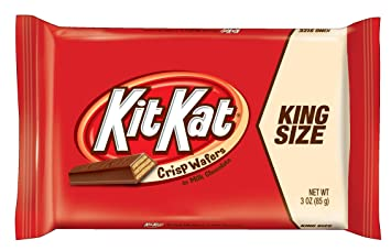 amazon com kit kat chocolate candy bars crisp wafers in milk