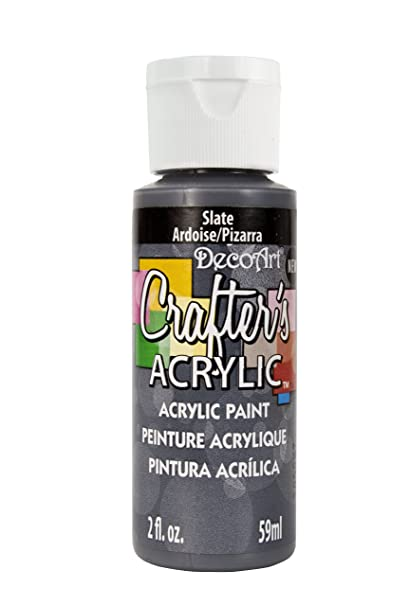 Amazon.com: DecoArt DCA139-3 Crafters Acrylic Paint, 2 ...