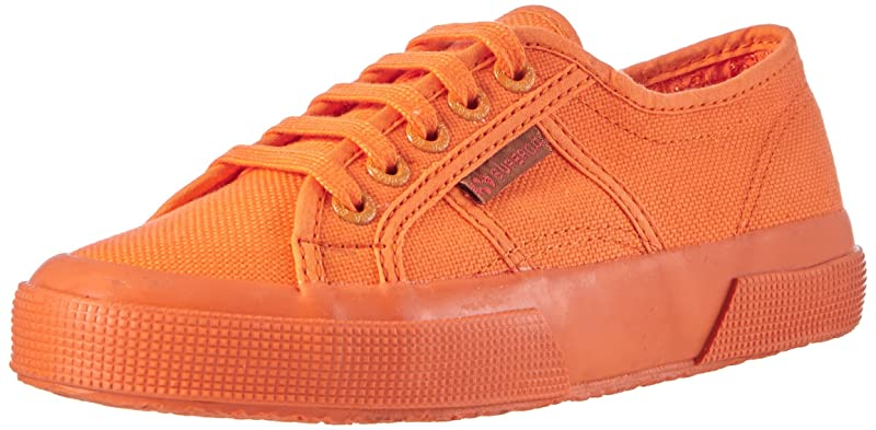 Superga 2750 Cotu Classic Sneakers Low-Top Unisex Damen Herren Komplett Orange