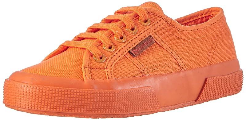 Superga 2750 Cotu Classic Sneakers Low-Top Unisex Damen Herren Komplett Orange