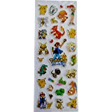 Pokemon Ash Pikachu Small Stickers