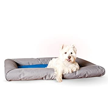 Amazon.com: K & H mascota productos Cool cama Deluxe con ...