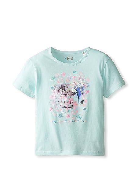 Conexión de la Polinesia Francesa de equitación para niña diseño de casetas de Playa Diseño de Flamenco Camiseta para Hombre, Bonita diseño de brotes de: ...