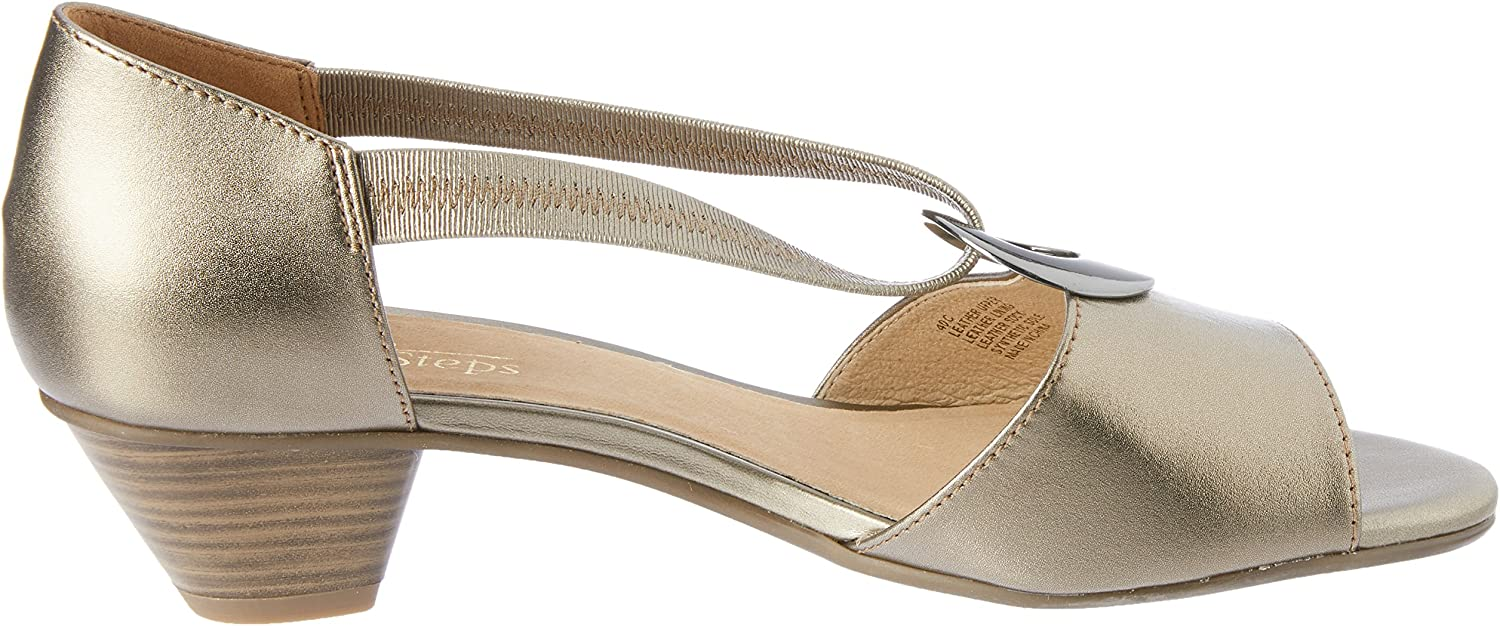 Easy Steps Praise Women Shoes Gold (Pewter metallic)