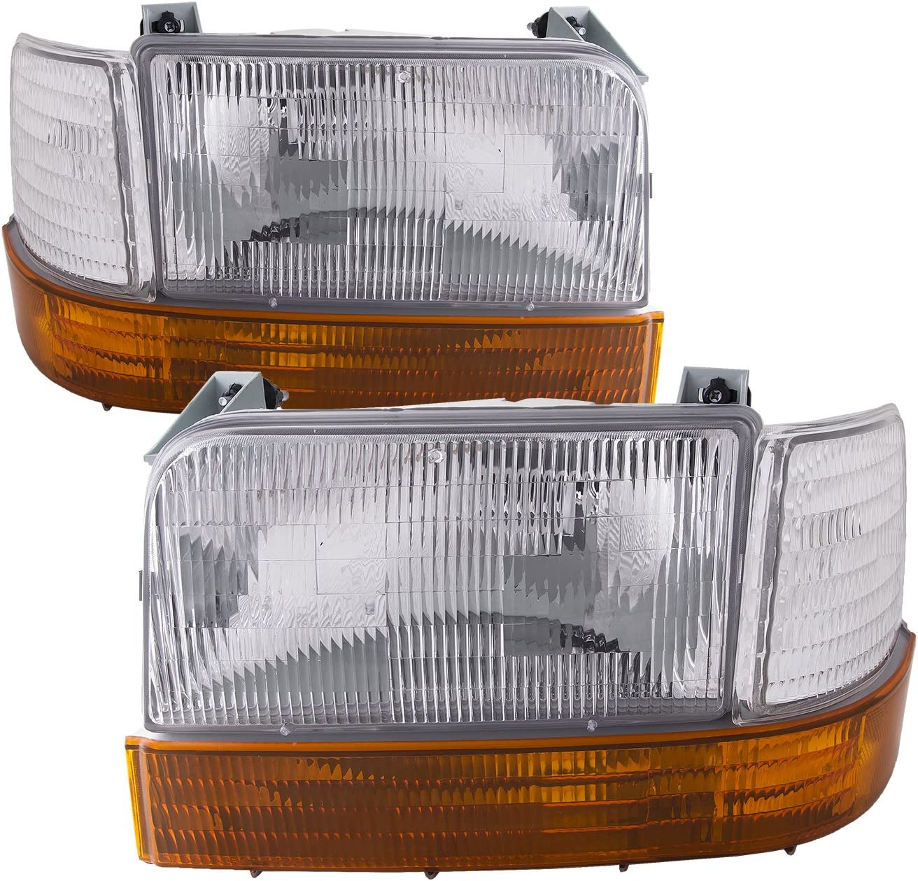 HEADLIGHTSDEPOT Signal Light Compatible with Ford Bronco F-150 Includes Left Driver Side Park Signal Light