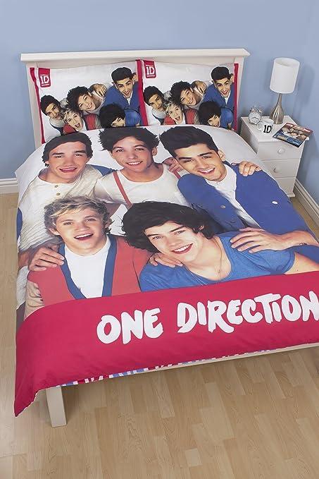 Copripiumino Singolo One Direction.One Direction Copripiumino Reversibile Anta Doppia