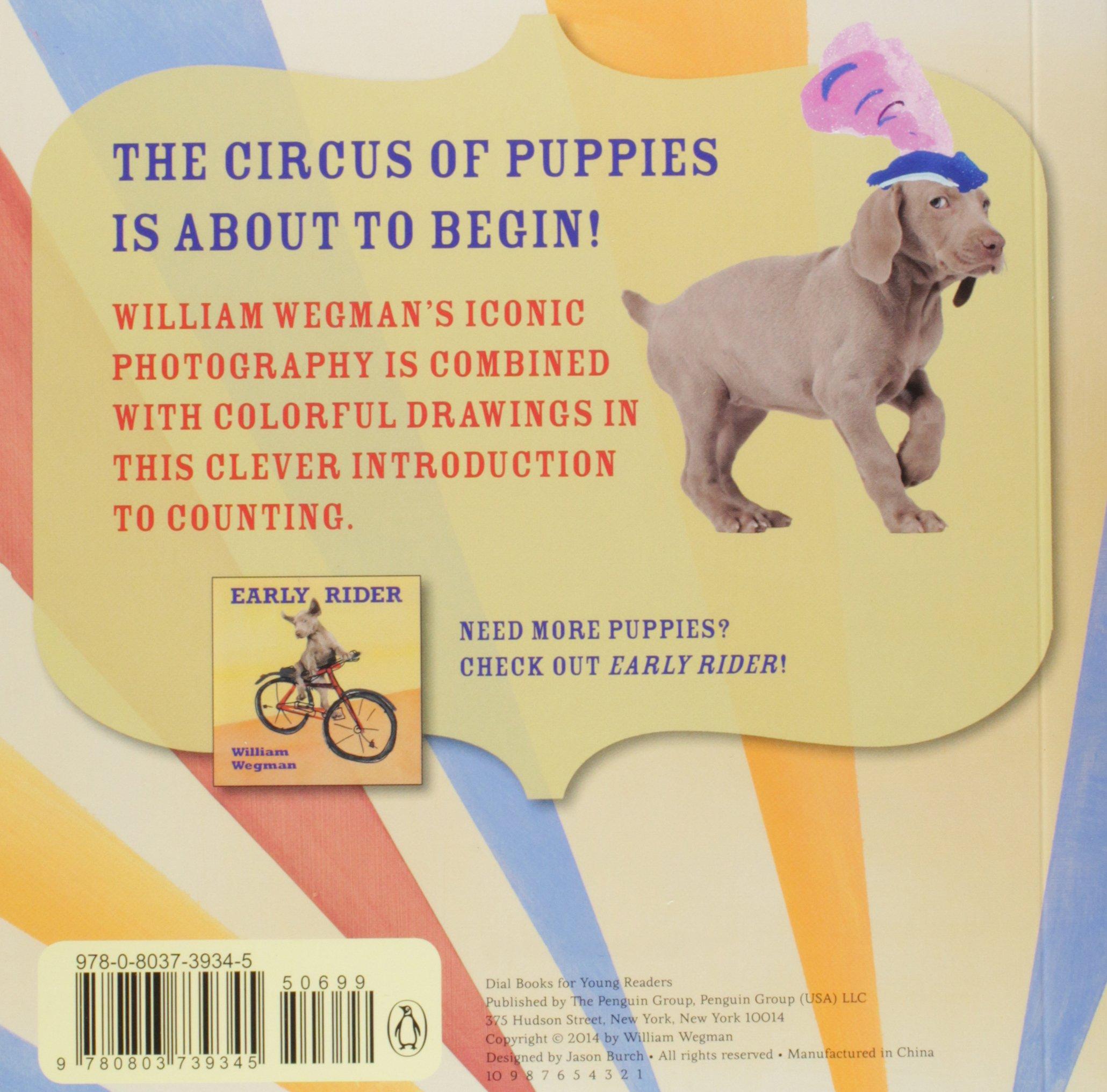3-2-1 Circus!: William Wegman: 9780803739345: Amazon.com: Books