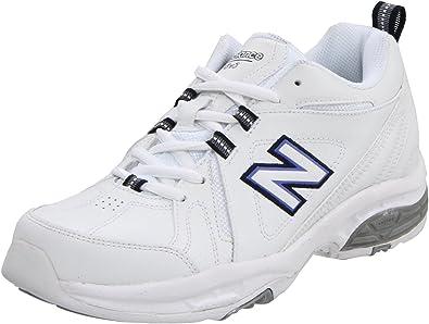 b317565cd New Balance Women's WX608V3 Cross-Training Shoe,White/Navy,5.5 ...