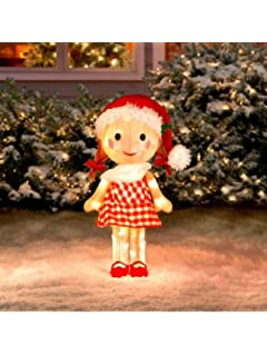 sally doll rudolph the red nosed reindeer misfit toys tinsel yard art by rudolph the red