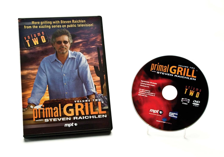 Amazon.com: Charcoal Companion SR8095 Steven Raichlen Primal Grill with Steven Raichlen DVD (Vol. 2): Recipe Holders: Kitchen & Dining