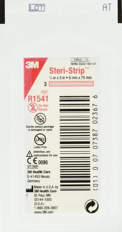 Steri-strip Primeros Auxilios Skin cierres 3m Nexcare suturas 2 Tamaños final Tiras