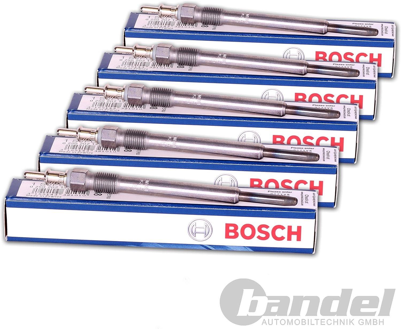 5x Glühkerze Bosch Duraterm 0250202023 Auto
