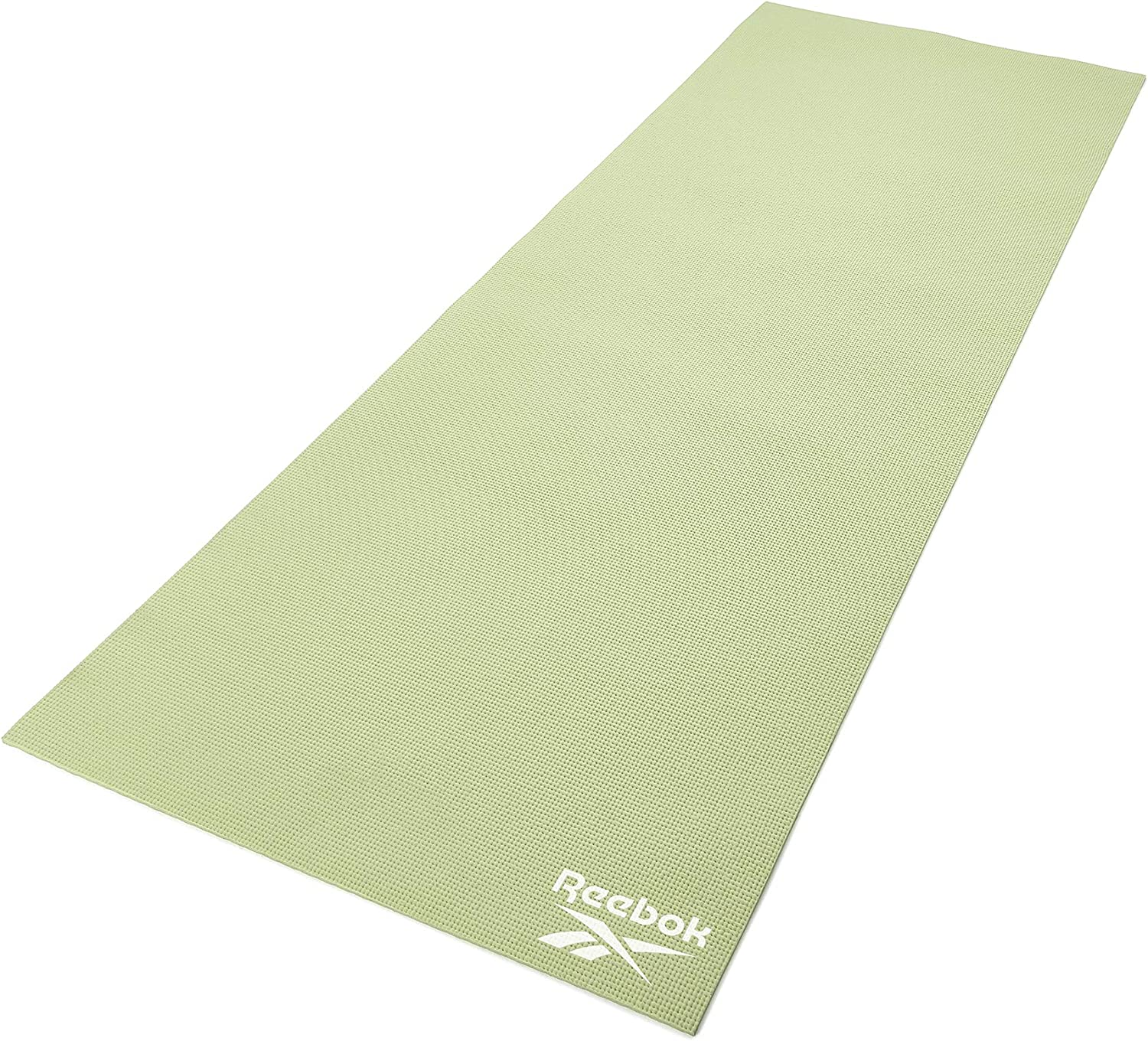 Amazon Com Reebok Fitness Equipment Yoga Mat 4 Mm Colour Green Rayg 11022gn Sports Outdoors