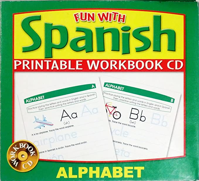picture regarding Spanish Alphabet Printable known as Pleasurable with Spanish Alphabet Printable Workbook Cd