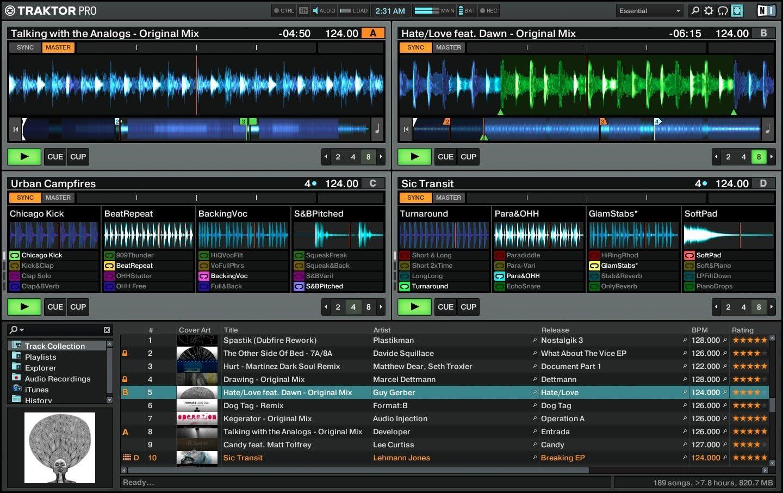 Traktor LE 2 DJ-USB-Soundkarte Native Instruments Traktor Audio 2 MK2 inkl