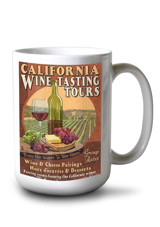 【別倉庫からの配送】 カリフォルニア Print – ワインVintage Sign 15oz 24 x 36 Giclee Mug Print LANT-42652-24x36 B077RQD9Q3 15oz Mug 15oz Mug, erable:0a705eee --- 4x4.lt