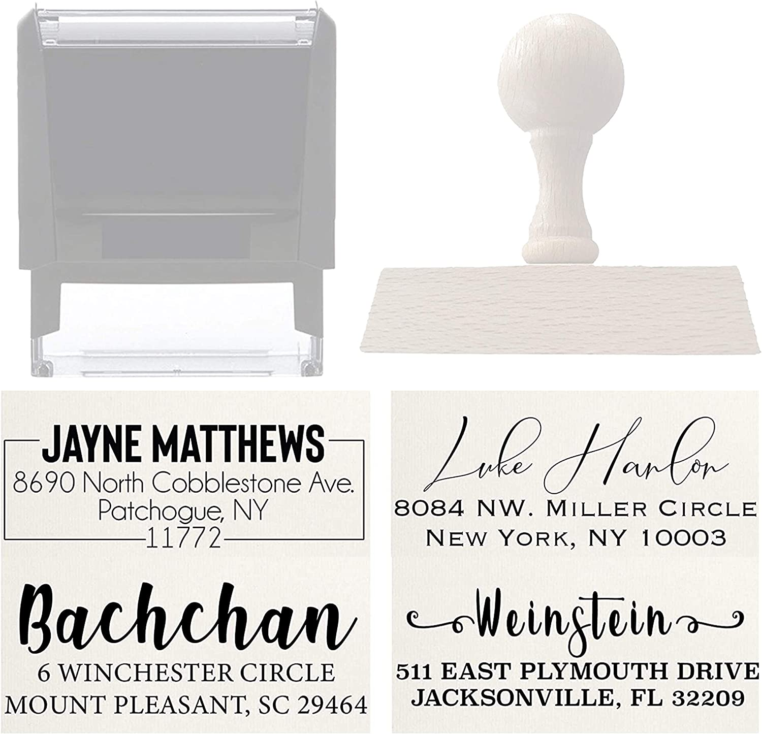 Gift Idea IPHS69A Custom Wedding Invitation Stamp Save The Date Rubber Stamp Personalized Address Stamp Custom Self Inking Rubber Stamp