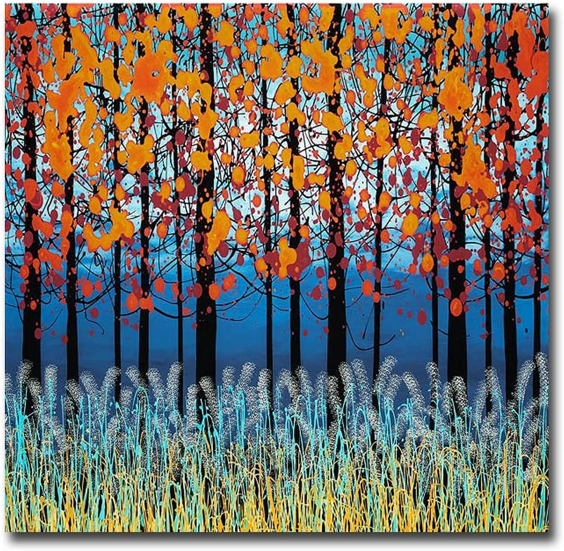 Twilight Peace By Daniel Lager Premium Gallery Wrapped Canvas Giclee Art 18 In X 18 In Ready To Hang Furniture Decor