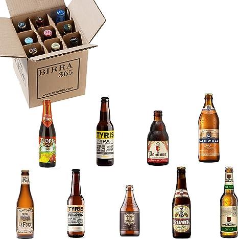 Caja degustación 9 cervezas diferentes.La caja perfecta para catar ...
