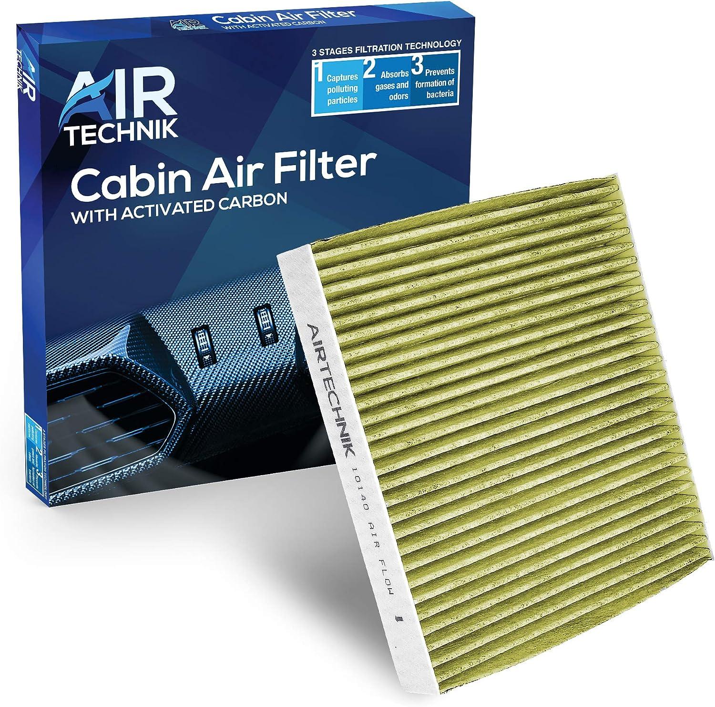 HQRP Filtro de aire carbón de cabina compatible con Mitsubishi Outlander 09-12