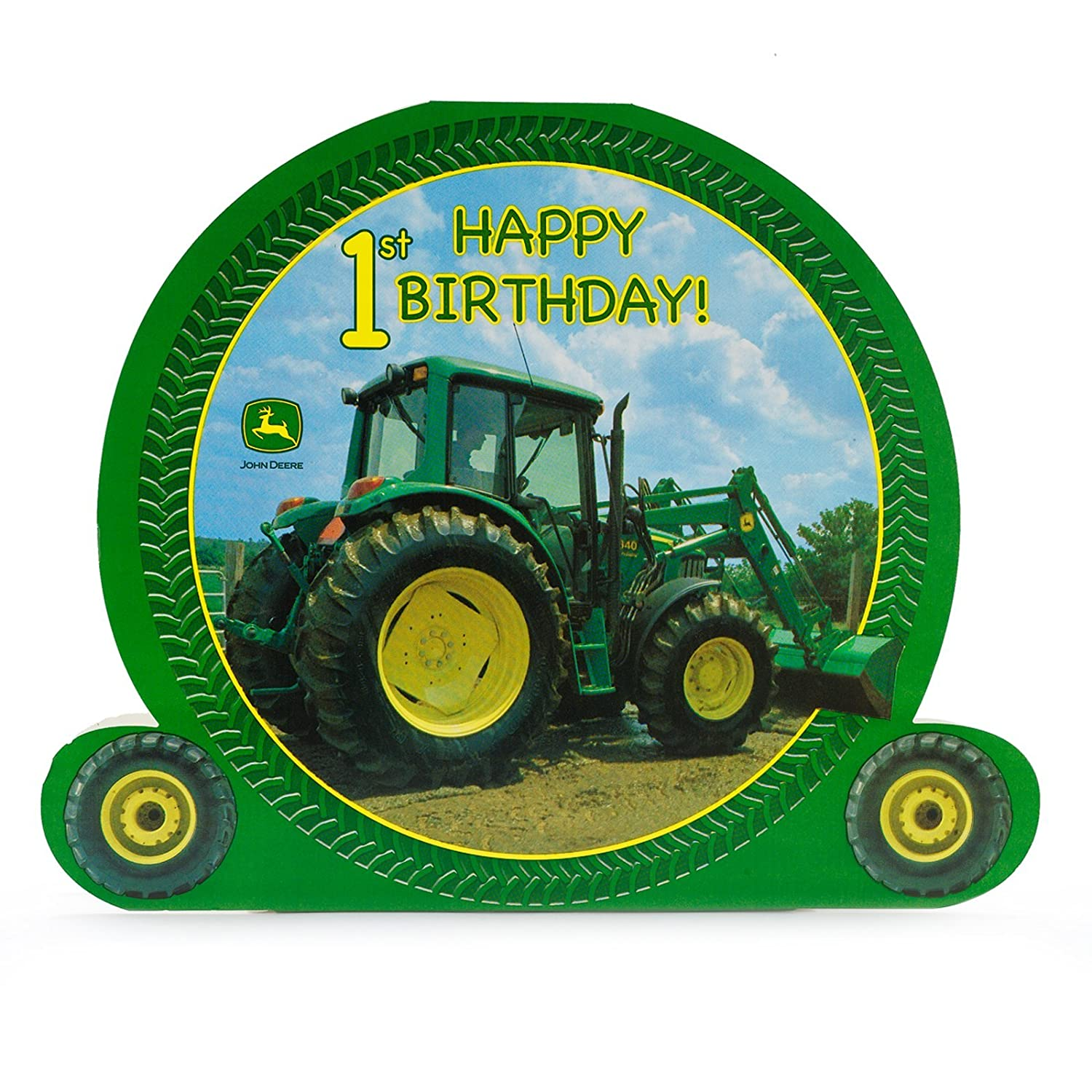 Amazon.com: Party Destination 169300 John Deere 1st Birthday ...