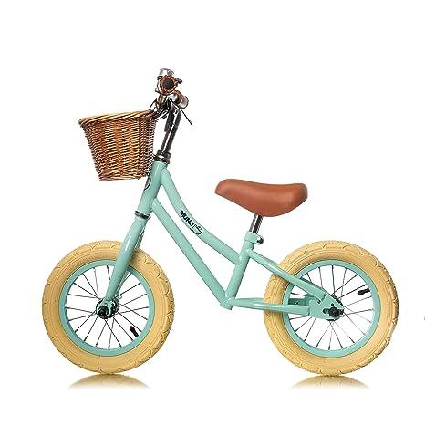 """MUNDO PETIT - Bicicleta Sin Pedales - Bicicleta Niño - Bicicleta Aprendizaje 12"""" - Incluida"""