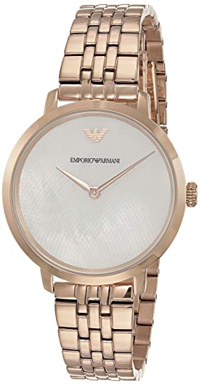 Armani Slim Women's Analog Emporio Modern Watch White Dial Buy Ym6fI7vbgy