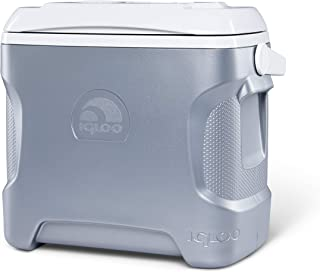product image for Igloo 28 Quart Iceless Thermoelectric 12 Volt Portable Ice Chest Beverage Cooler, Silver