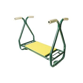ALEKO GKS01 Garden Padded Kneeler Stool And Seat Yard Work Bench Keeling  Cushion Pad Weeding Stool
