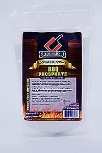 BUTCHER BBQ Phosphate Barbeque Seasoning Gluten Free | Msg Free1 Pound