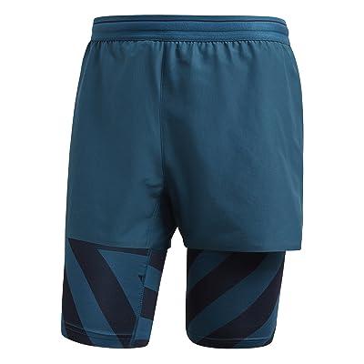adidas Agravic - Short running Homme - Bleu pétrole 2018 collant femme