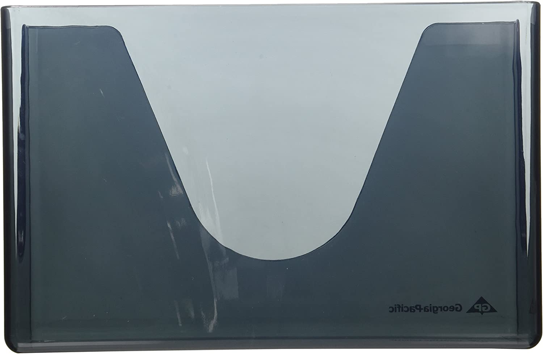 Georgia-Pacific 56640 C-Fold//M-Fold Countertop Paper Towel Dispenser Smoke