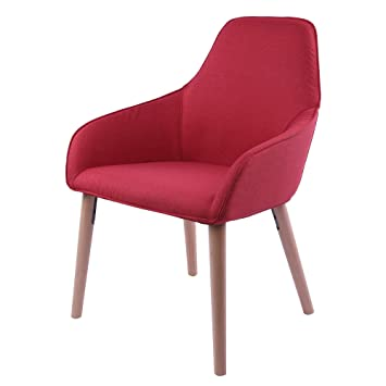 Amazon.com - Sunon Tufted Arm Chair Upholstered Armrest Accent Chair ...