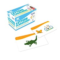 Pre-K Letters Flashcards: 240 Flashcards for Building Better Letter Skills Based on Sylvan's Proven Techniques for Success