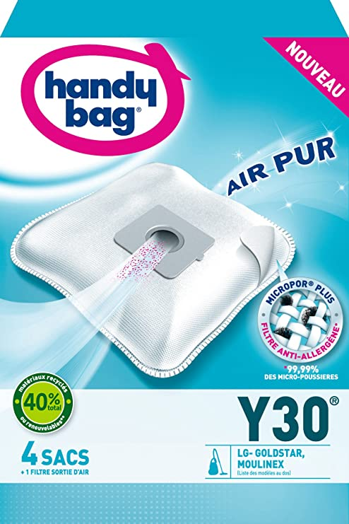 Handy Bag Y30 - Bolsa para aspirador LG V3310