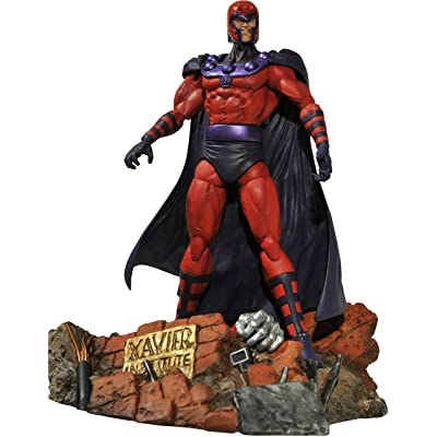 Diamond Select Toys Marvel Select: Magneto Action Figure: Toy: Toys & Games