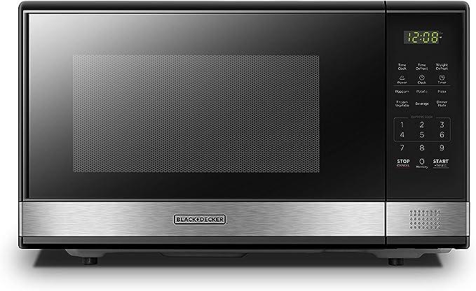 Amazon.com: BLACK+DECKER Microondas digital con puerta ...