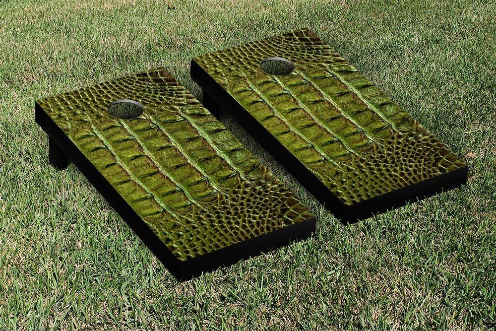 AlligatorスキンテーマCornhole Game Set B009WV3TGA
