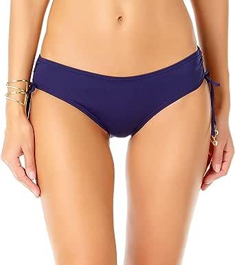 Anne Cole New Navy Alex Side TIE Bikini Bottom