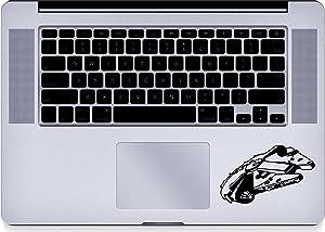 Millenium - Falcon - Trackpad - Macbook - Decal - Keyboard