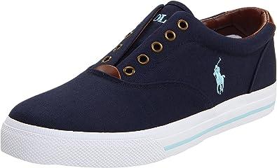 Polo Ralph Lauren Men\u0027s Vito Sneaker, Navy, ...