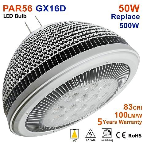 83cri Led Replace 100lpw Gx16d Par56 50w Mfl Retrofit Bulb 4000k vn08mwNO