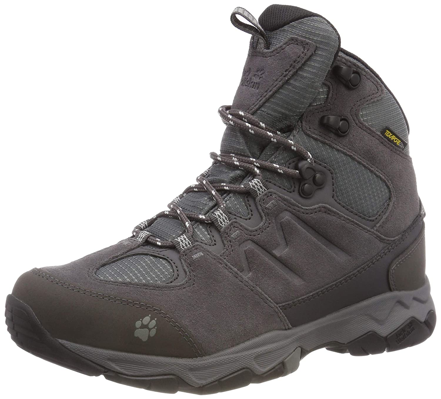 bbaa53f0327 Jack Wolfskin Women's MTN Attack 6 Texapore Mid W High Rise Hiking ...