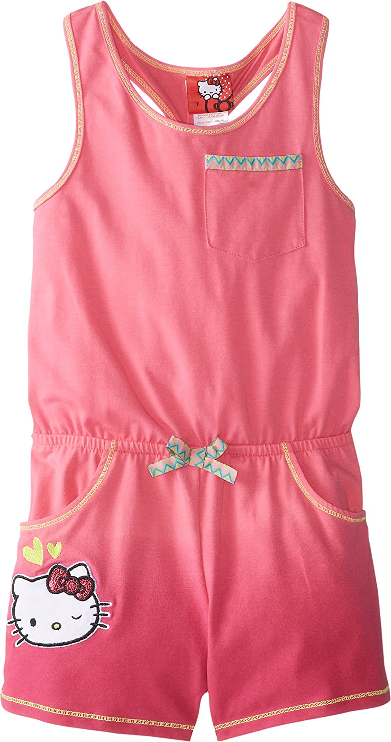 Hello Kitty Girls Sleeveless Jumpsuit