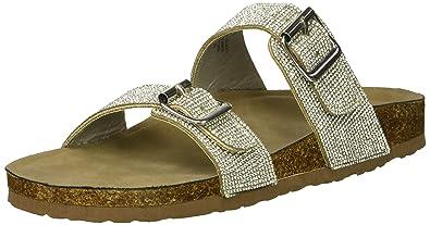 9a36839da52 Madden Girl Women's Brando-R Slide Sandal