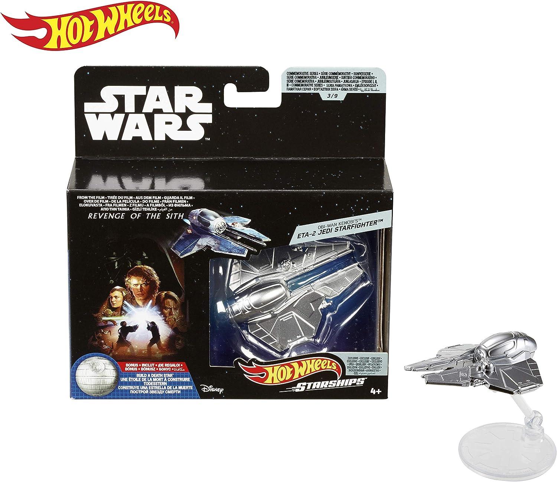 Hot Wheels Star Wars Commemorative Series Republic Attack Gunship Starship