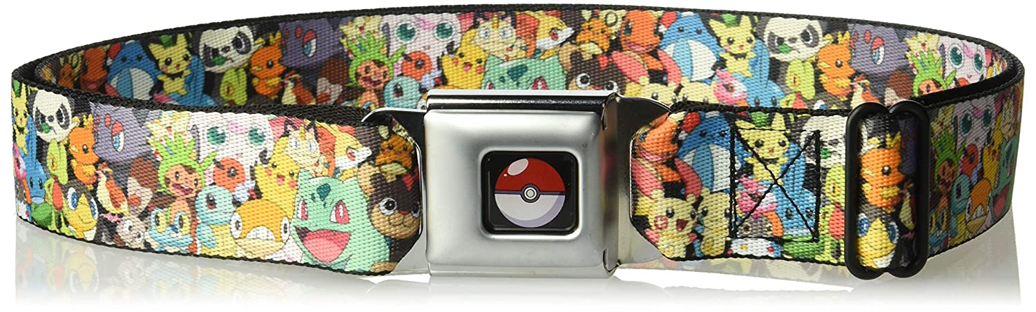Buckle Down Boys Seatbelt Belt Pokemon Regular, Buckle-Down PKA-WPK136