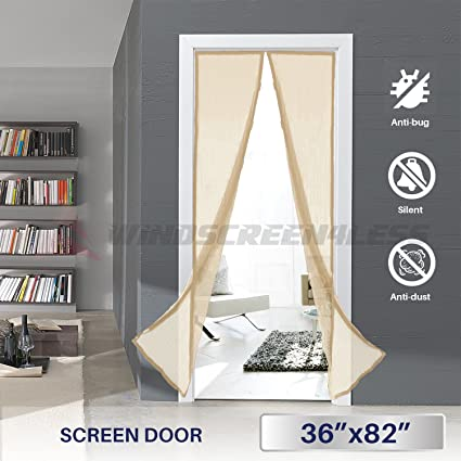 Charmant Windscreen4less Magnetic Screen Door   36u0026quot; X 82u201c, Heavy Duty, Walk  Through