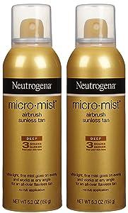 Neutrogena Micro-Mist Tanning Sunless Spray – Drugstore self-tanner for face