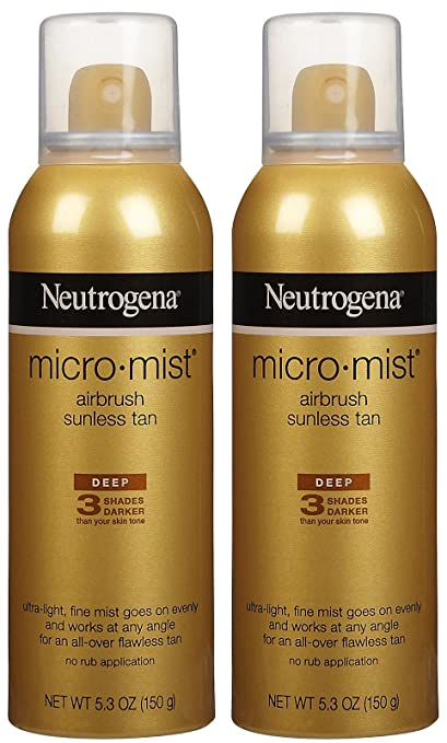 Neutrogena Micro-Mist Tanning Sunless Spray-5.3 oz, 2 pack Neutrogena